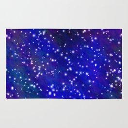 Stars in the Navy Blue Sky Rug