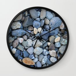On Rocky Shores Wall Clock