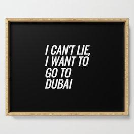 Dubai Serving Tray