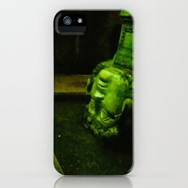 My head in thought. iPhone Case