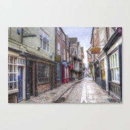 The Shambles York Art Canvas Print