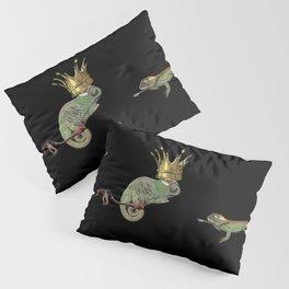 Chameleon Monarchy Pillow Sham