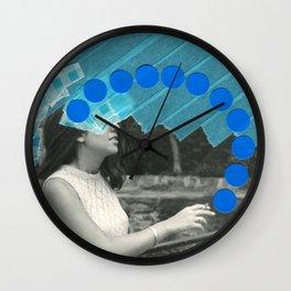 Smokey Eyes Wall Clock