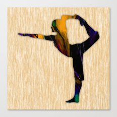 Fitness Canvas Print