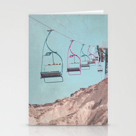into the sky... Stationery Cards