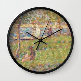 """Study for """"La Grande Jatte"""" Wall Clock"""