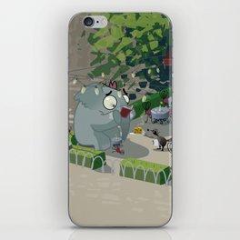 Mr. Elephant & Mr. Mouse 'Bistro' iPhone Skin
