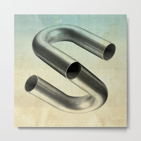 impossible tubes Metal Print