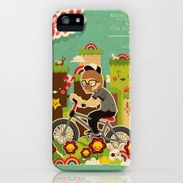 Mr.Bongo Cycling iPhone Case