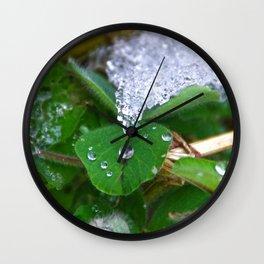Frozen Green Wall Clock