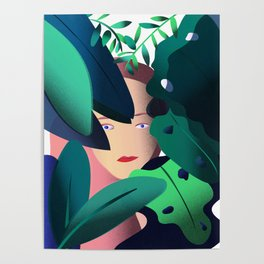 Woman in the Jungle Poster