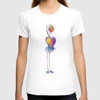 swan T-shirts featuring swan by tatiana-teni