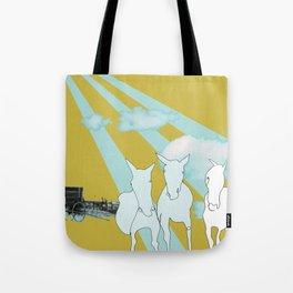 Horses. Tote Bag