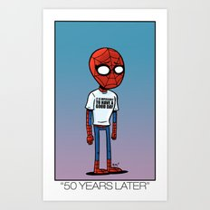 50 Years Later. Art Print