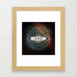 The Eye Beholds Framed Art Print