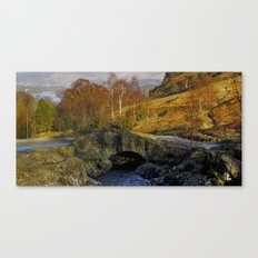 Ashness Bridge  Lake District Canvas Print