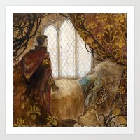 The Sleeping Beauty Art Print