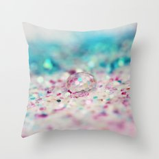 Candy Coated Throw Pillow