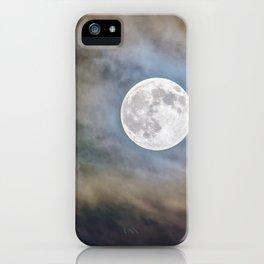 Halloween Full Moon iPhone Case