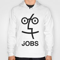 steve jobs Hoodies featuring JOBS by Mr. Pandastic
