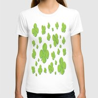 clover T-shirts featuring Clover by Trip79