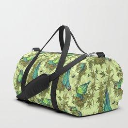 Parrots & Weeds Duffle Bag