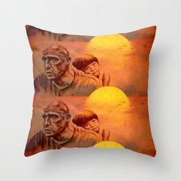 Marlon Brando - original Throw Pillow