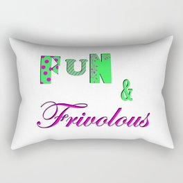 Fun and Frivoulous Rectangular Pillow