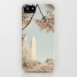 Spring in DC II iPhone Case