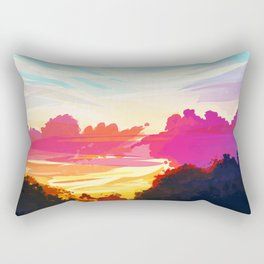 Bright Sky Rectangular Pillow