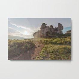 Megalith at sunset Metal Print
