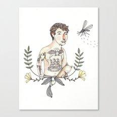 Peter's Portrait Canvas Print