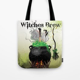 Witches Brew Ha Ha Tote Bag