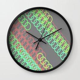 CGG Ellipse Wall Clock