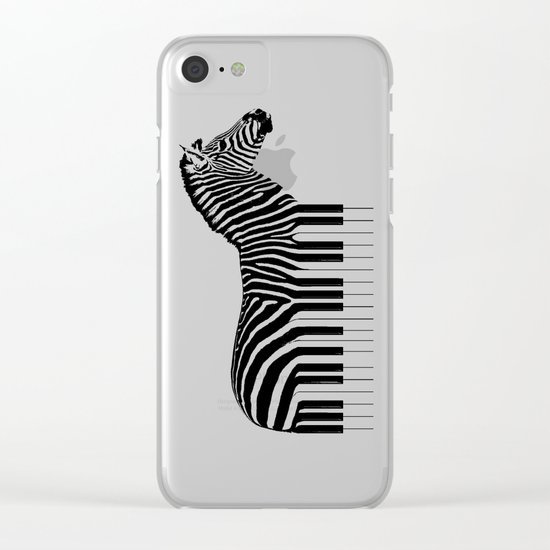 Zeyboard Clear iPhone Case