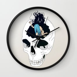 Clouded Mind Wall Clock