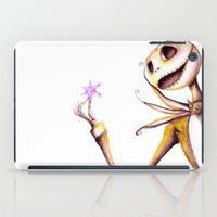 jack skellington iPad Cases featuring Jack Skellington by Leanne Engel