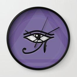The Eye of Horus (Ra) Wall Clock