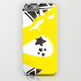 Diamonds And Stars - Urban Painting iPhone Case