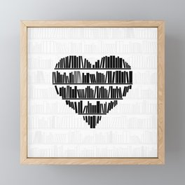 Book Lover II Framed Mini Art Print