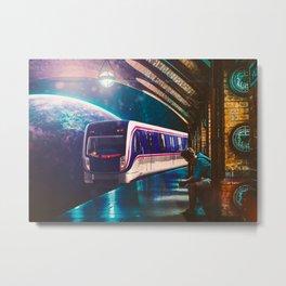 The Station Metal Print