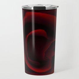 Blood Red Rose Travel Mug