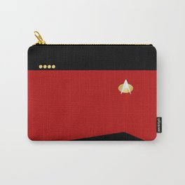 Star Trek: TNG Red Captain Uniform Carry-All Pouch