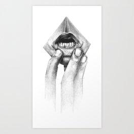 little secret.... Art Print