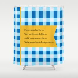 Silver Lining Shower Curtain