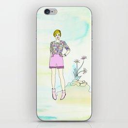 PING PONG KITTEN iPhone Skin