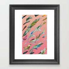 plant specimen 1 - candy Framed Art Print