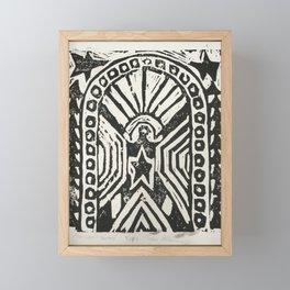 The Cosmic Doorway Framed Mini Art Print