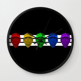 Tyler the Creator (Divide) Wall Clock