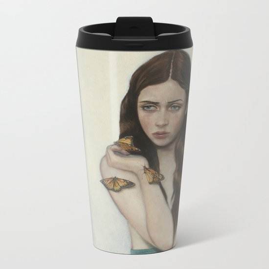 The Butterfly Effect Metal Travel Mug